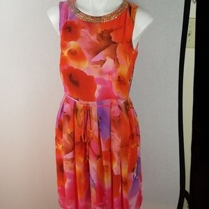 Sandra Darren dress Size 8 Sleeveless used